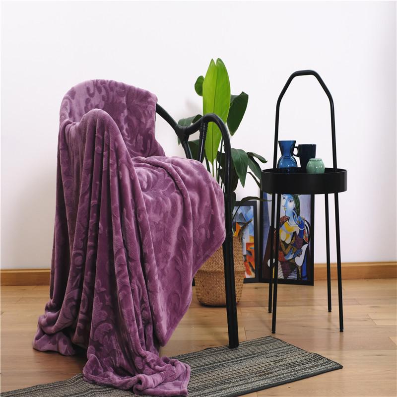 Jacquard Microfiber Fabric Blanket