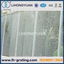 Râpage clôture de sécurité en acier galvanisé