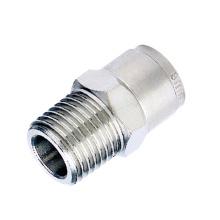 China proveedor latón conexión neumática virola de acero inoxidable conexión apropiada