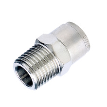 China Supplier Brass Pneumatic Connection Stainless Steel Ferrule Fitting Connection