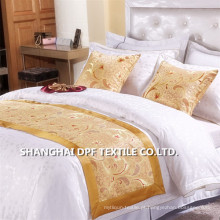 100% poliéster Hotel Bed Throw (DPH6198)