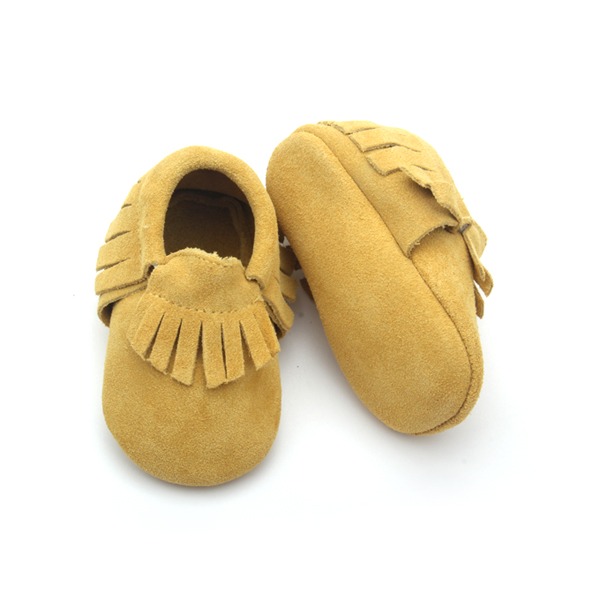 Multicolor Baby Moccasin Shoes