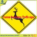 Custom reflective Warning sign