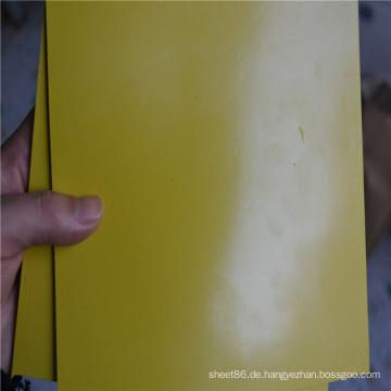 Gelbe Farbe SBR Rubber Sheet Rubber Pad