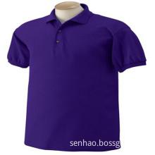 Purple Wholesale Man Fashionable Polo Shirt