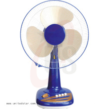 Bonne conception 12/16 pouces 3 PP Blade Table Fan Blue Color