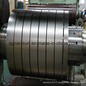 Grâce à la bobine d'aluminium standard ISO
