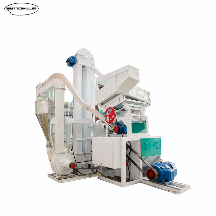 Combined Auto Rice Mill Machinery