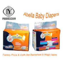Abella Tela-Como el pañal caliente respirable del bebé de la venta