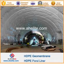 Geomembrane PEHD PVC PEBE EVA pour le tunnel
