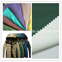 PA Coated Microfiber Polyester Pongee for Down-Proof Jacket