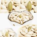 Lady unha sementes de abóbora orgânicas em casca