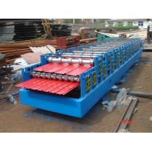 Machine de formage de rouleaux à double couche en acier de couleur au prix le plus bas
