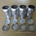 Couverts en boite de boisson en aluminium de qualité alimentaire 206 # 58mm Easy Open End