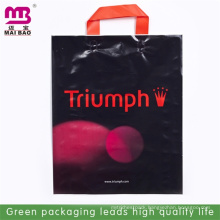Clearance price wholesale for loop handle plastic bag/plastic bag