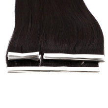 2020 New Style Human Hair Virgin Hair Black Color 1 Set Different Size Hand Insert Tape Hair Extension Remy Hair