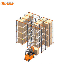 Metal Storage Warehouse Industrial Drive-in Pallet Rack