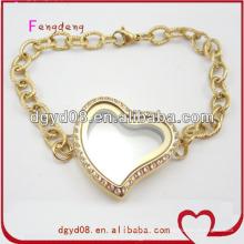316 en acier inoxydable bijoux en or en gros