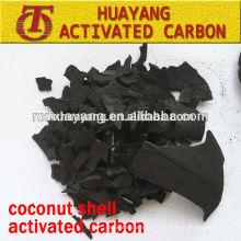 valor de iodo 1100mg / g casca de coco ativar granulometria de carbono