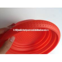Panier de linge pliable en silicone non toxique et respectueux de l'environnement