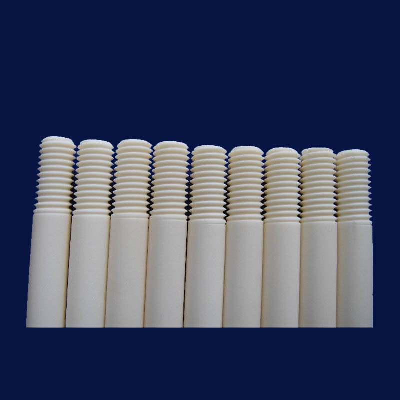 Alumina Ceramic Threaded Shaft