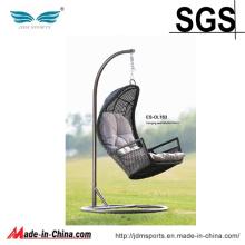 Chaise accrochante de hamac de rotin extérieur d'oeufs (ES-OL163)