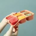 Ящик для хранения пищевых продуктов из силикона для младенцев
