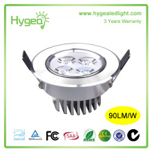 15W round indoor led downlight,small led lignting with UL and CE