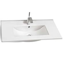 Modern style home goods sanitary set bulk ceramic basin wholesale cabinet basin