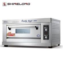 ShineLong Four industriel à pizza à 2 étages, gaz et électricité