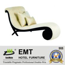 Unique Design Hotel Sofa Longue Chair (EMT-LC18)