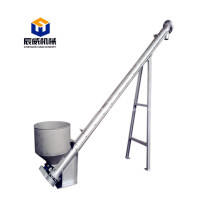 carbon steel fertilizer screw auger conveyor