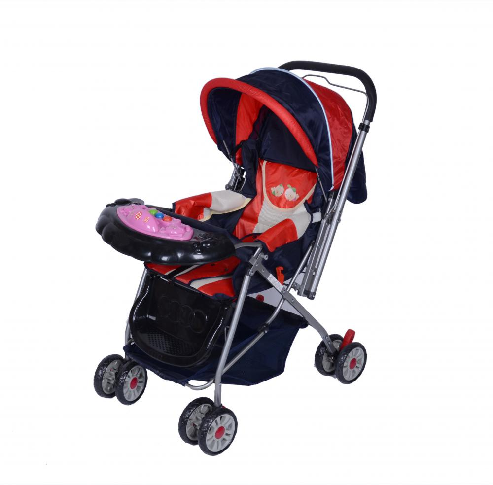 Joyful Classic Lightweight Reversible Handle Bar Baby Stroller