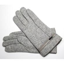 Men′s Fashion Wool Nylon Knitted Winter Warm Gloves (YKY5435B-1)