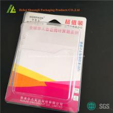 Bandeja plástica para calculadora com papelão
