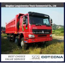 Cnhtc Sinotruck HOWO 371HP 8X4 camión de servicio pesado