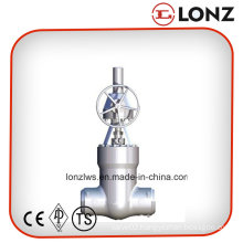 ANSI/API Stainless Steel Butt Weld Gate Valve with Gear Operated