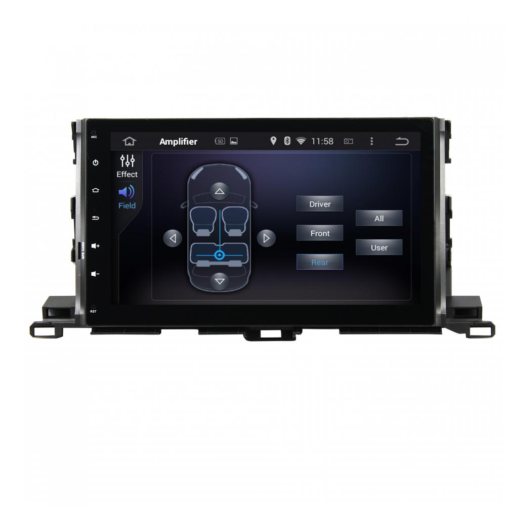 Highlander 2015 car DVD player Deckless series