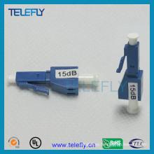 LC / PC Atenuador de fibra óptica macho a hembra