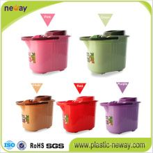 Spin Plastic Wheelie Mop Bucket with Factory Price