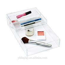 Qualité supérieure acrylique de maquillage accessoires bac