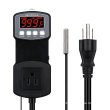 Controlador de alta temperatura 1803B 300C para fumante de churrasco