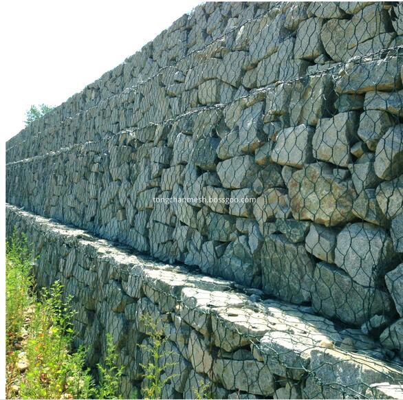 Gabion Box in rete metallica
