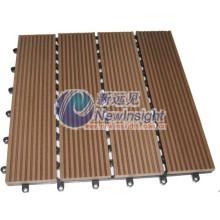 140 * 18mm WPC Decking, Decking, composto plástico de madeira