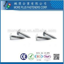 Fabriqué en Taiwan M3X8 Tête de serrage galvanisée à tige auto-taraudée