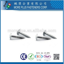 Fabricado em Taiwan M3X8 Galvanized Modified Truss Head Self Tapping Screw