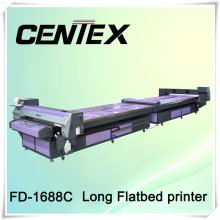 Impresora de camiseta de alta velocidad con sistema de cama plana
