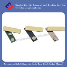 NdFeB neodimio neodimio Ferite AlNiCo samario cobalto flexible magnético material insignia