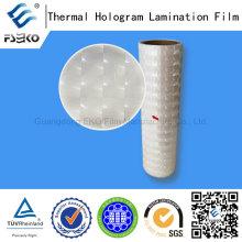 Lens Pattern 3D Pre-Coating Roll Laser Film
