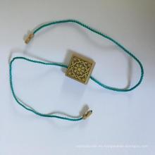 Cuadrado de gránulos personalizados para textiles para el hogar